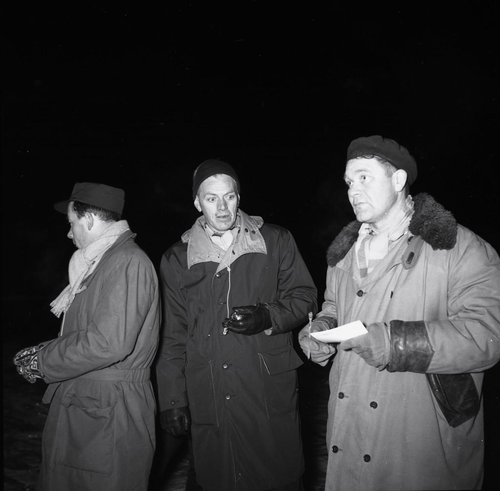 Bilde av NM på skøyter i Sandefjord 1961