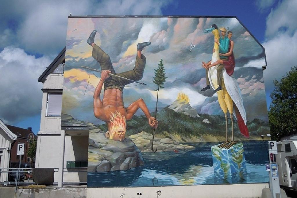 Bilde av Veggmalerier.