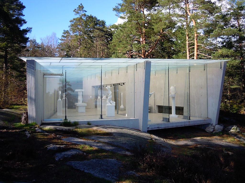 Bilde av Knut Steen`s Skulpturpaviljong