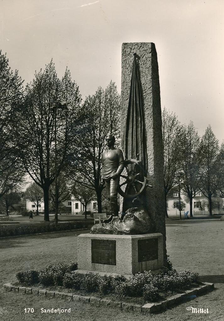 Bilde av SJØMANNS MINNESMERKE