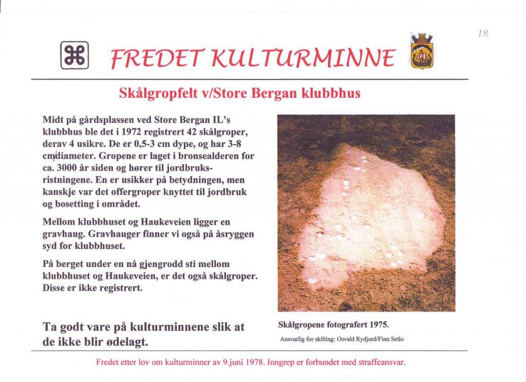 Bilde av Stålgropfelt v/Store Bergan.