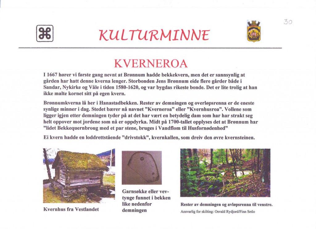 Bilde av Kverneroa i Brønnum.