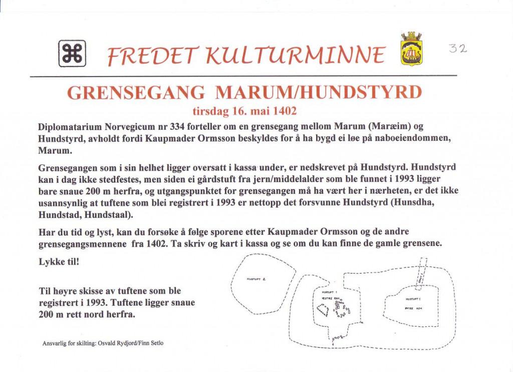 Bilde av Grensegang Marum / Hundstyrd.