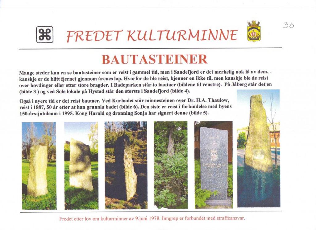 Bilde av Bautasteiner fra gammel tid.