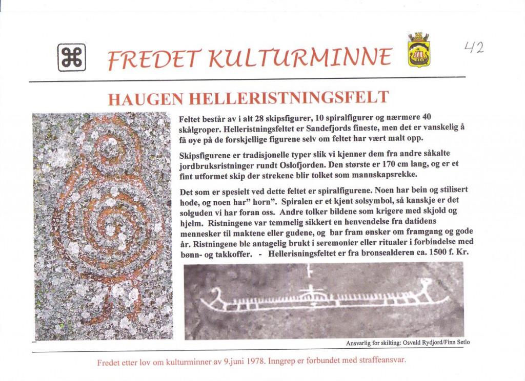 Bilde av Haugen Helleristningsfelt.