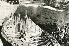 Bilde av Utgraving av Gogstadskipet