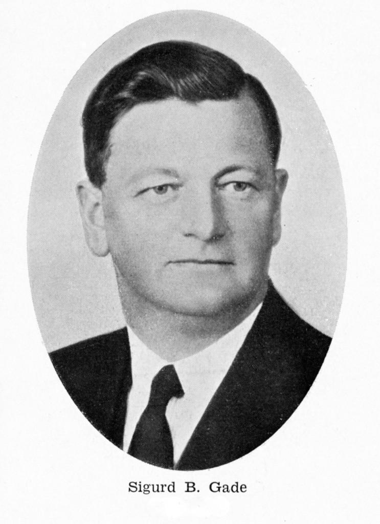 Bilde av Formann Sandefjord Handelstandsforening 1938-1940