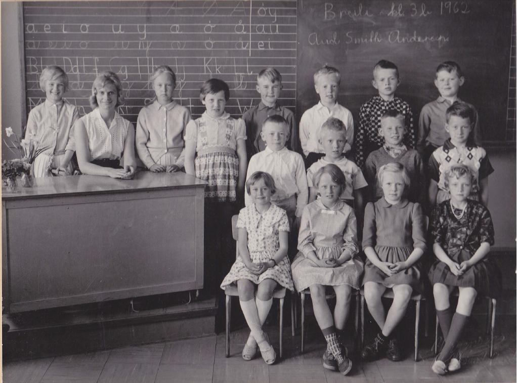 Bilde av 1962  Klasse   3B
