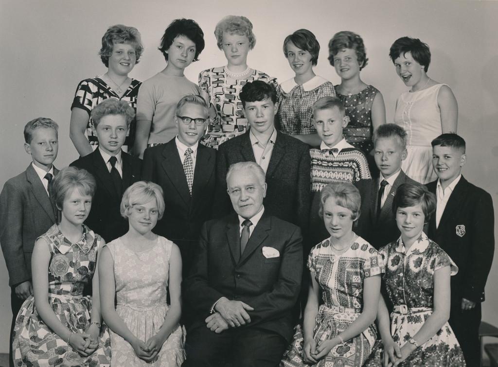 Bilde av 1961  klasse 7A