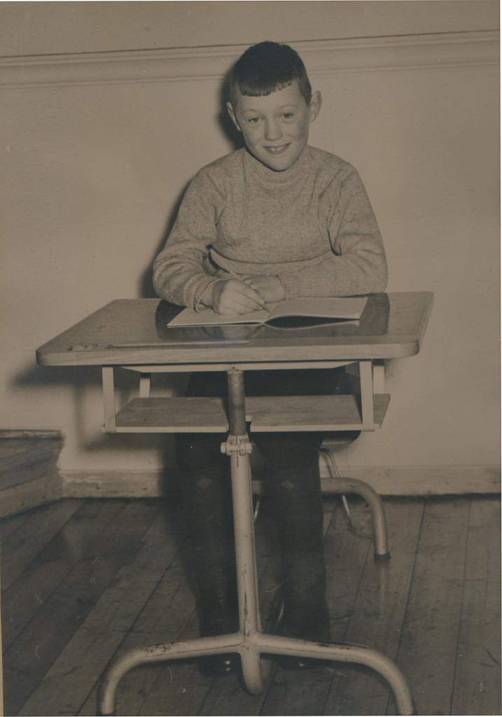 Bilde av 1958 klasse 7A