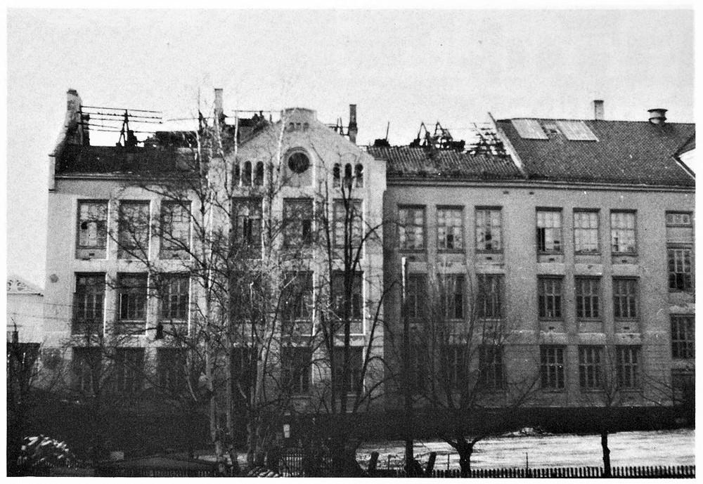 Bilde av Byskolen 1944