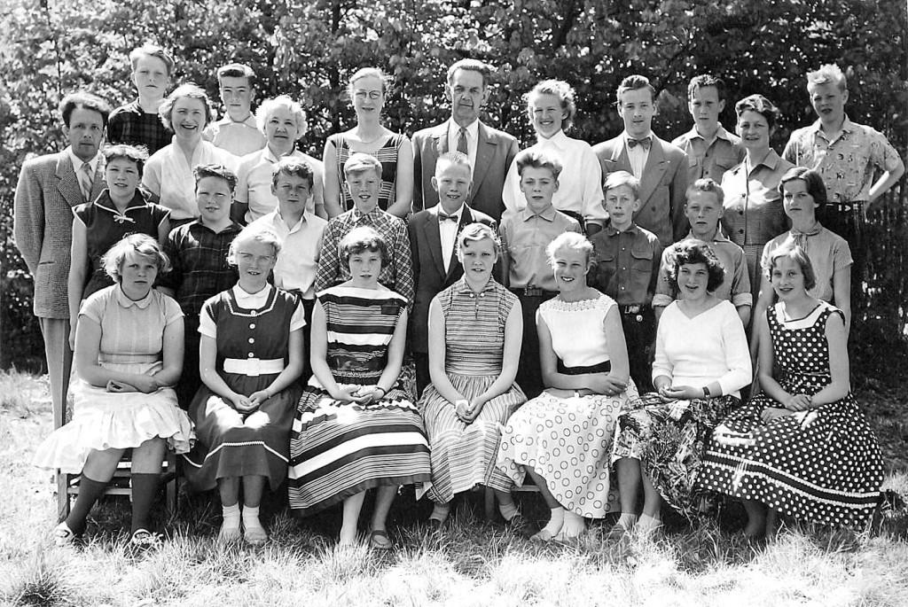 Bilde av Klasse 1957 7B