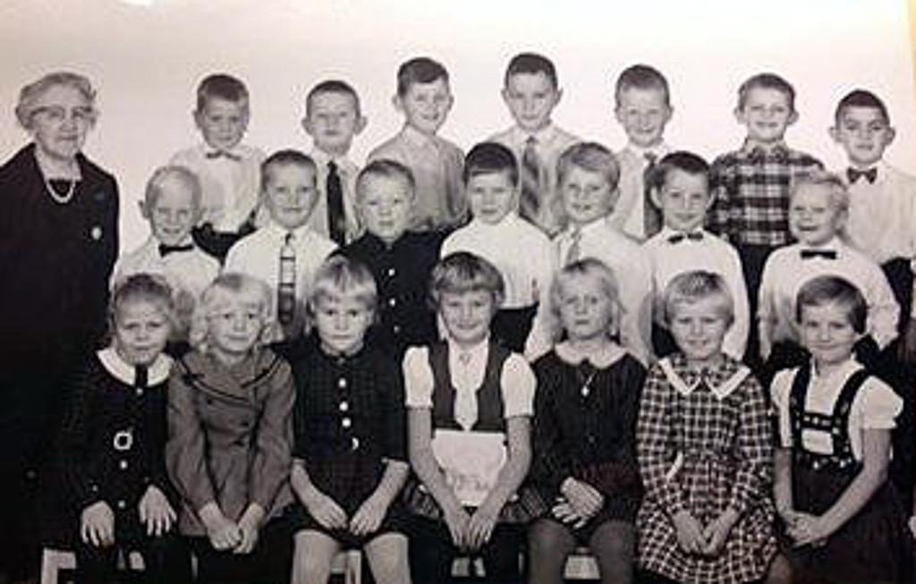 Bilde av Klasse 1962-63 1A
