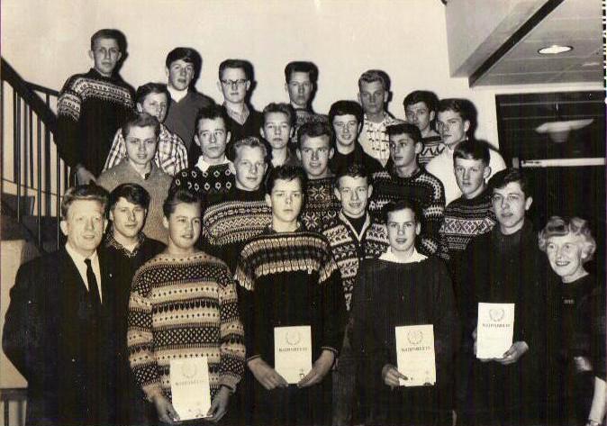 Bilde av Utvidet førstehjelpskurs ved Norsk Folkehjelp 1963 - 1964