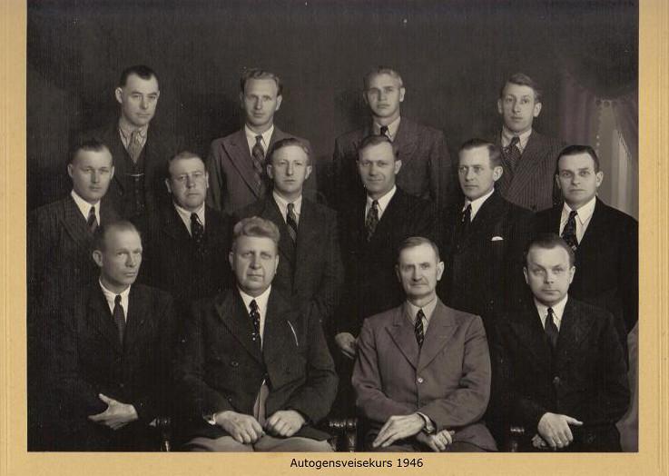 Bilde av Autogensveisekurs 1946