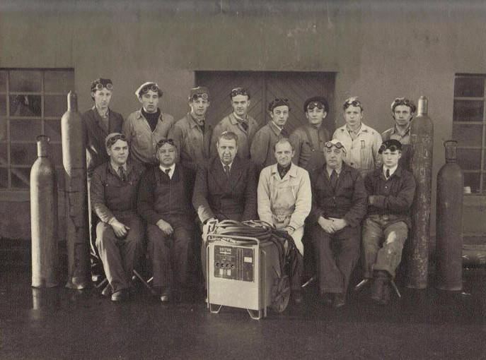 Bilde av Sveisekurs 1948