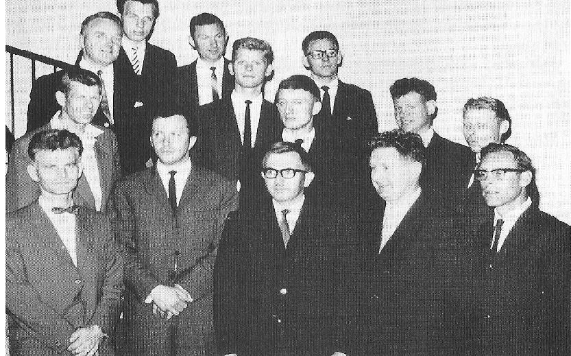 Bilde av Tekn. assistenter 1966 - 68