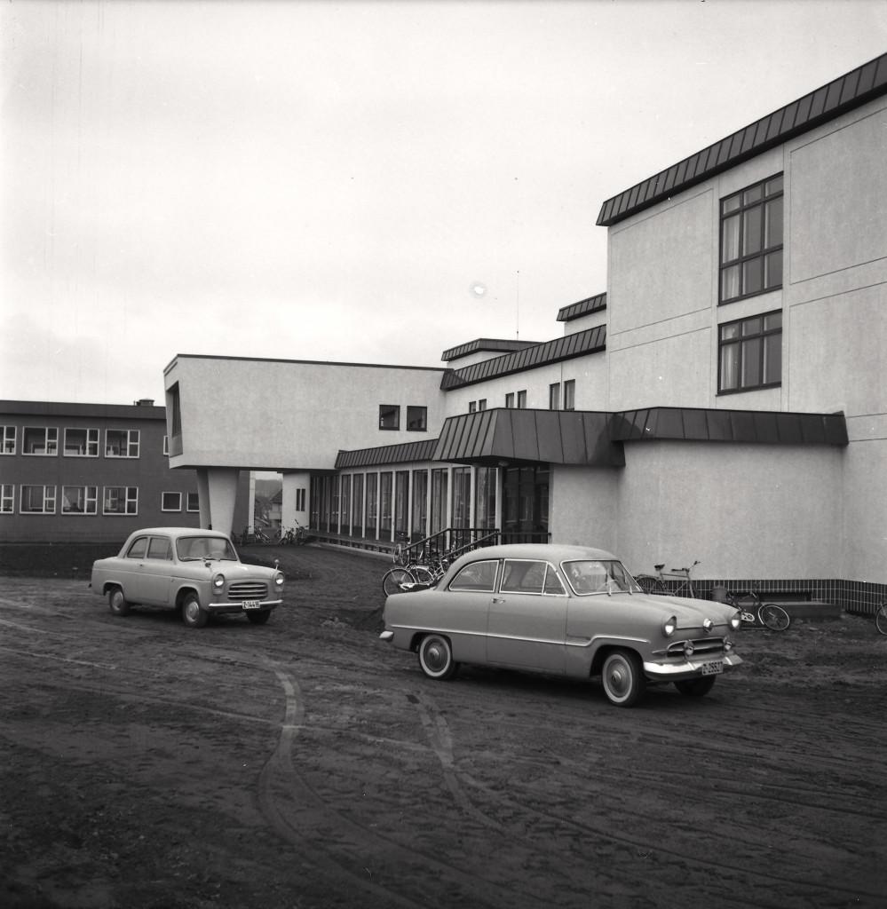 Bilde av Sandar Yrkesskole i Bugården