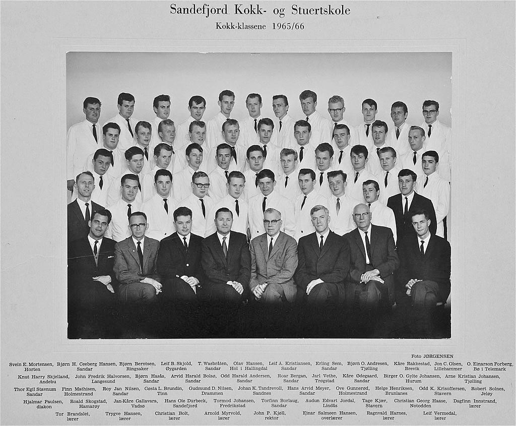 Bilde av Kokk 1965 - 66
