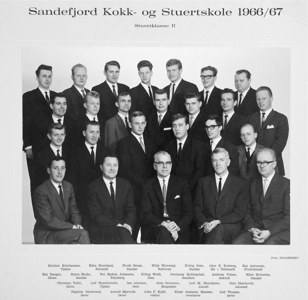 Bilde av Klasse Kokk 1966-67
