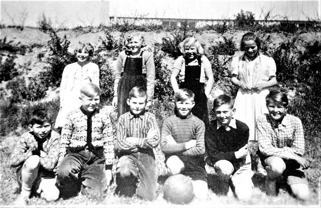 Bilde av VAGGESTAD SKOLE 1953