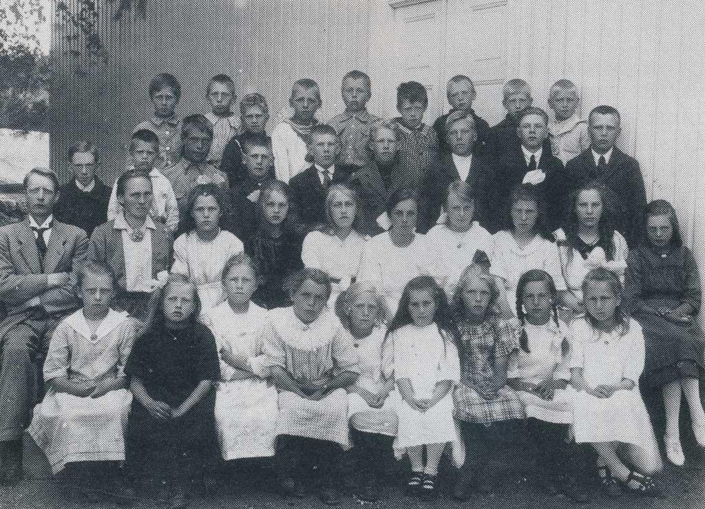 Bilde av Klassebilde fra 1921