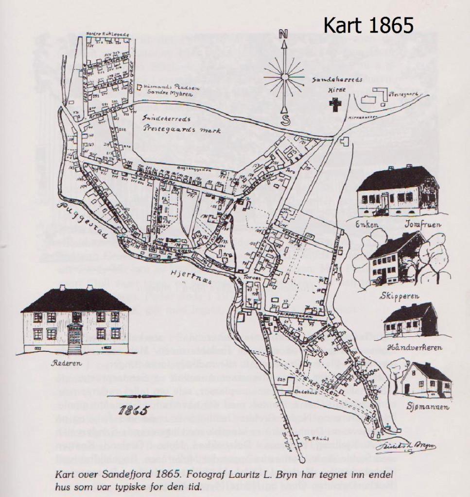 Bilde av Sandefjord 1865
