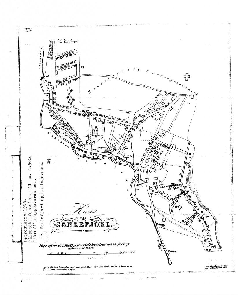 Bilde av Sandefjord 1868