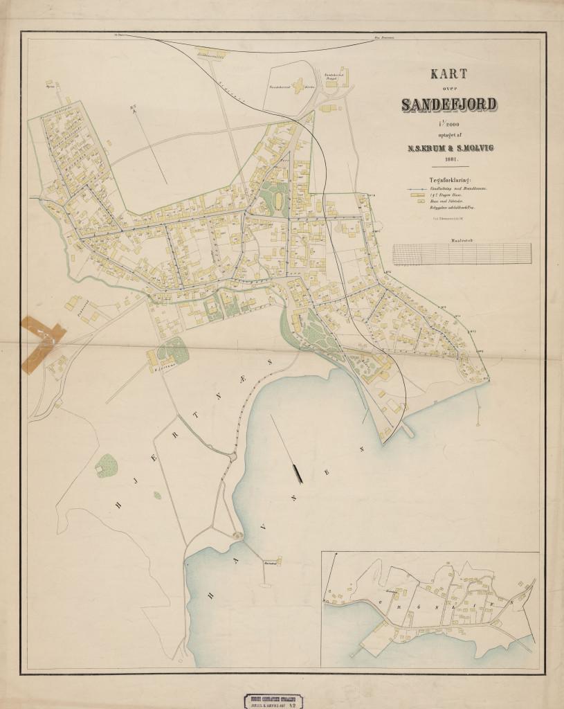 Bilde av Sandefjord 1881