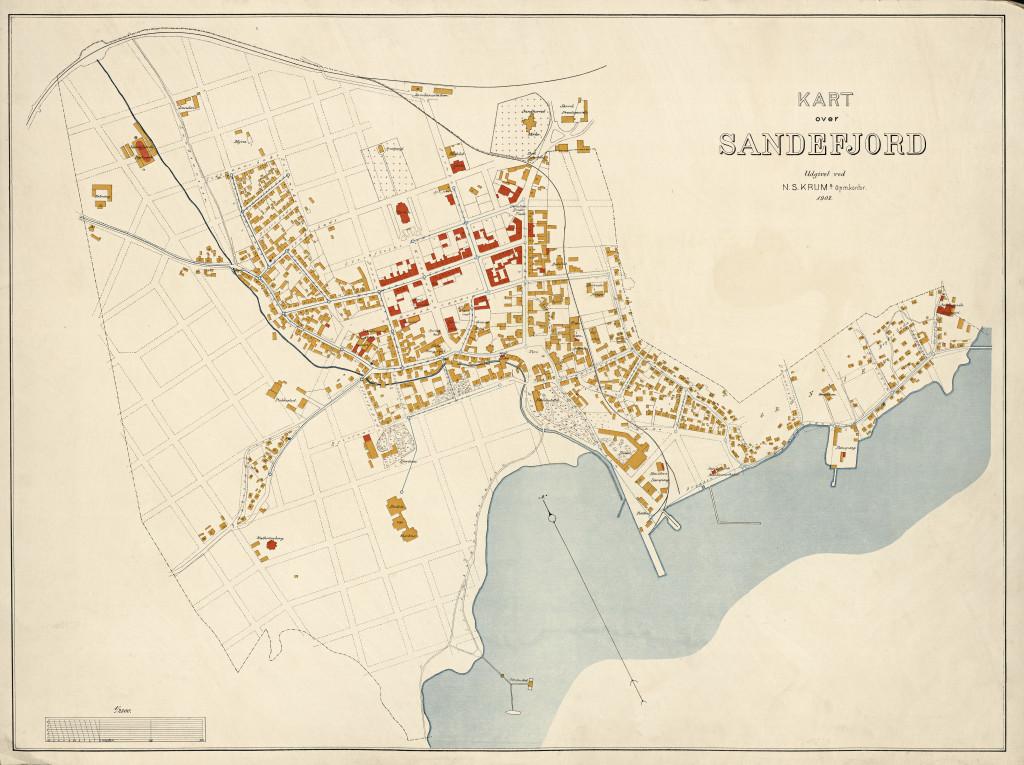 Bilde av Sandefjord 1902