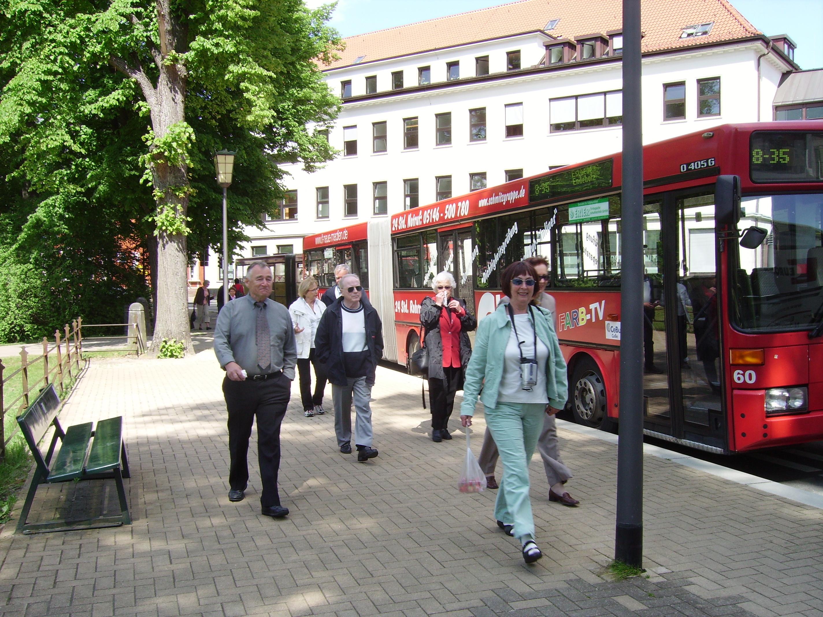 Bilde av Avreise fra Celle.