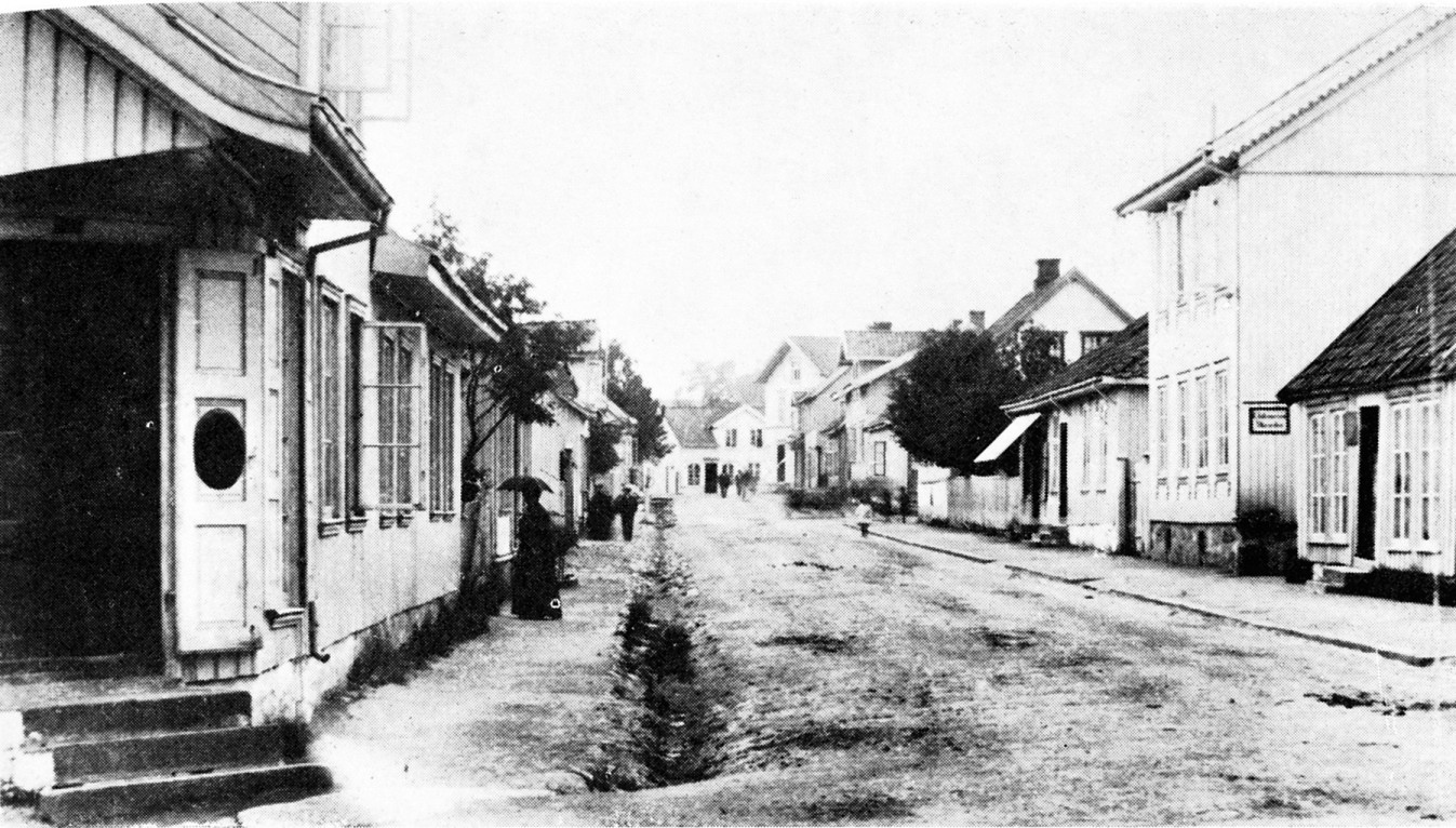 Bilde av Langgaden vest