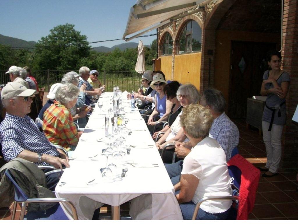 Bilde av Spania-tur lunsj.