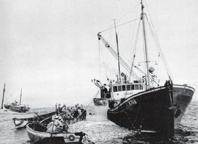 Bilde av DS/HVB SOUSA på fiske som SAAØY.