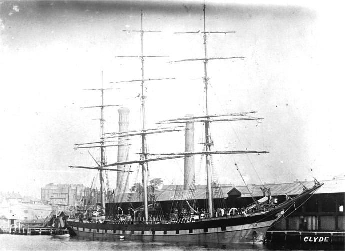 Bilde av 1916 Fullrigger CLYDE