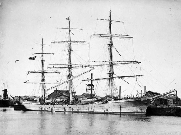 Bilde av 1915 Fullrigger GEYSIR
