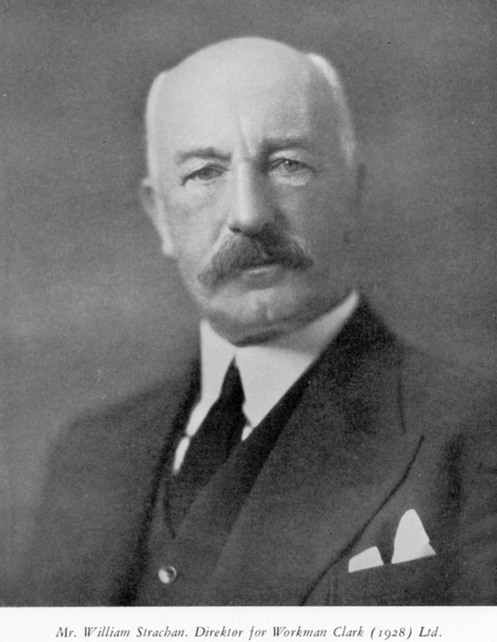 Bilde av Direktør William Strachan. Direktør for Workman Clark (1928) Ltd.