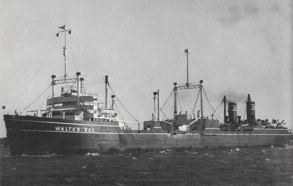 Bilde av KOSMOS IV som WALTER RAU
