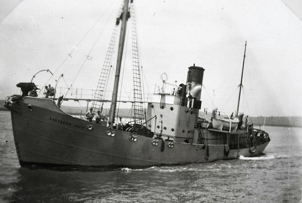 Bilde av HMSAS SOUTHERN MAID (T-27).