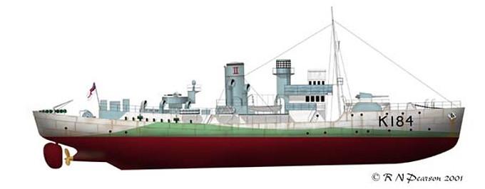 Bilde av HMS ABELIA (K-184)