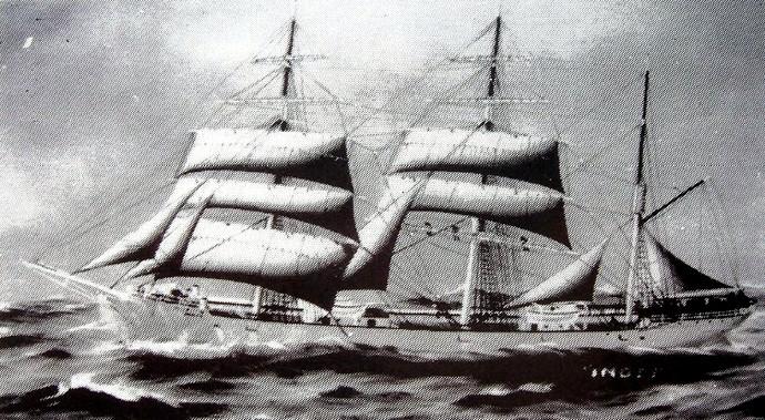 Bilde av 1904 Bark INGER