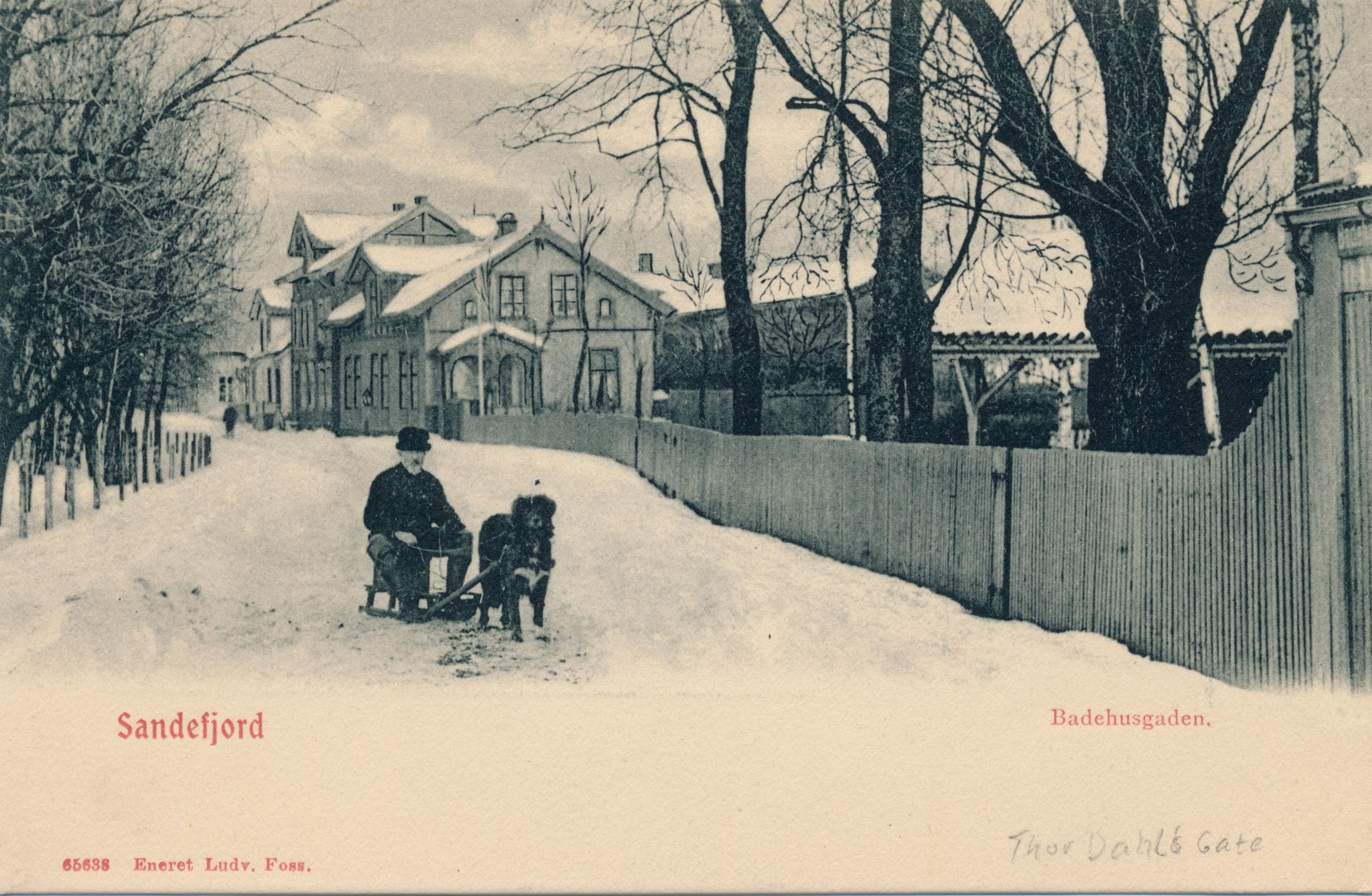 Bilde av Thor Dahls gate / Badehusgaden