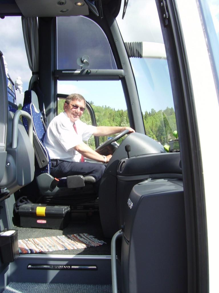 Bilde av Turens sjåfør.