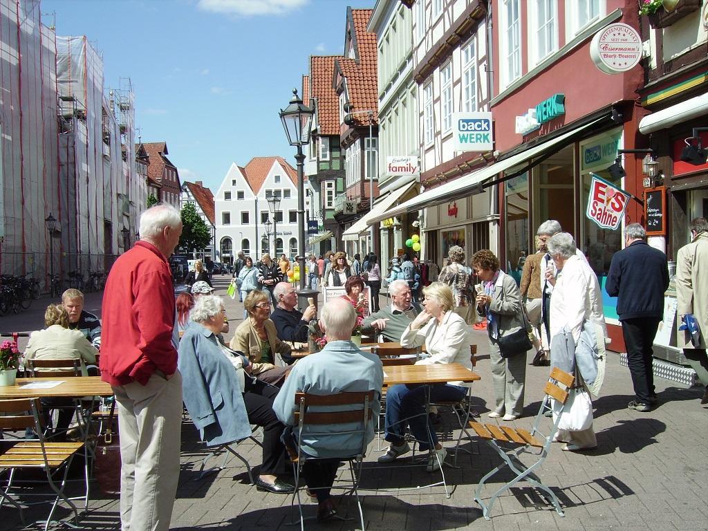 Bilde av Stopp i byen Celle.