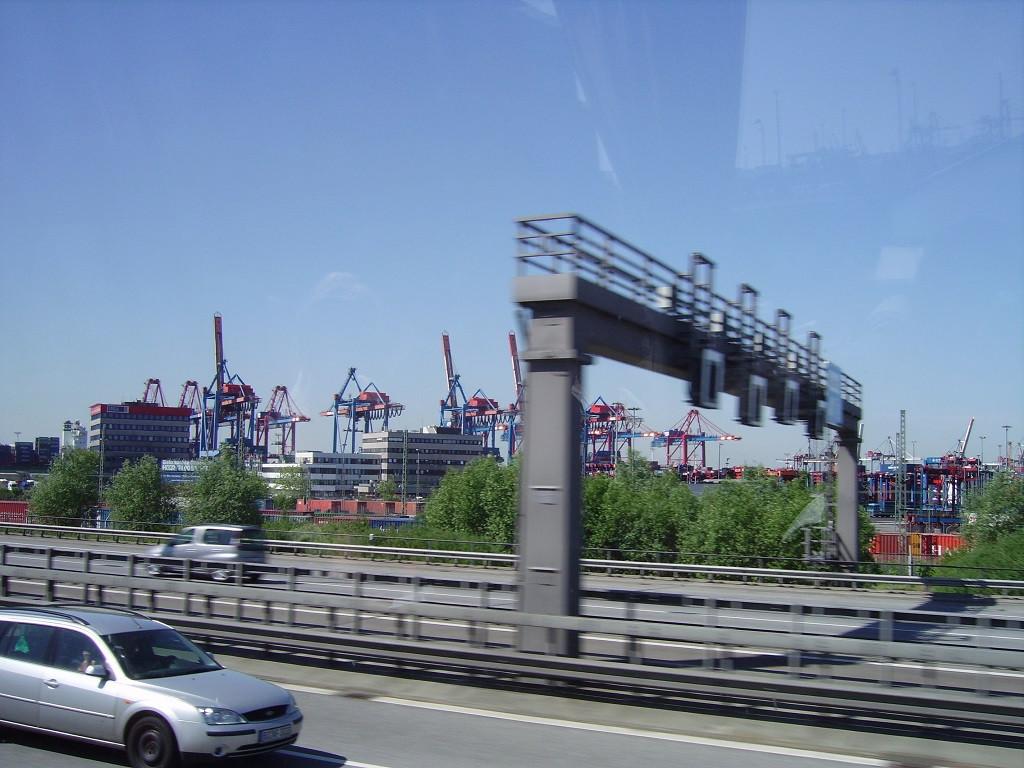 Bilde av E7 nordover, Europort.