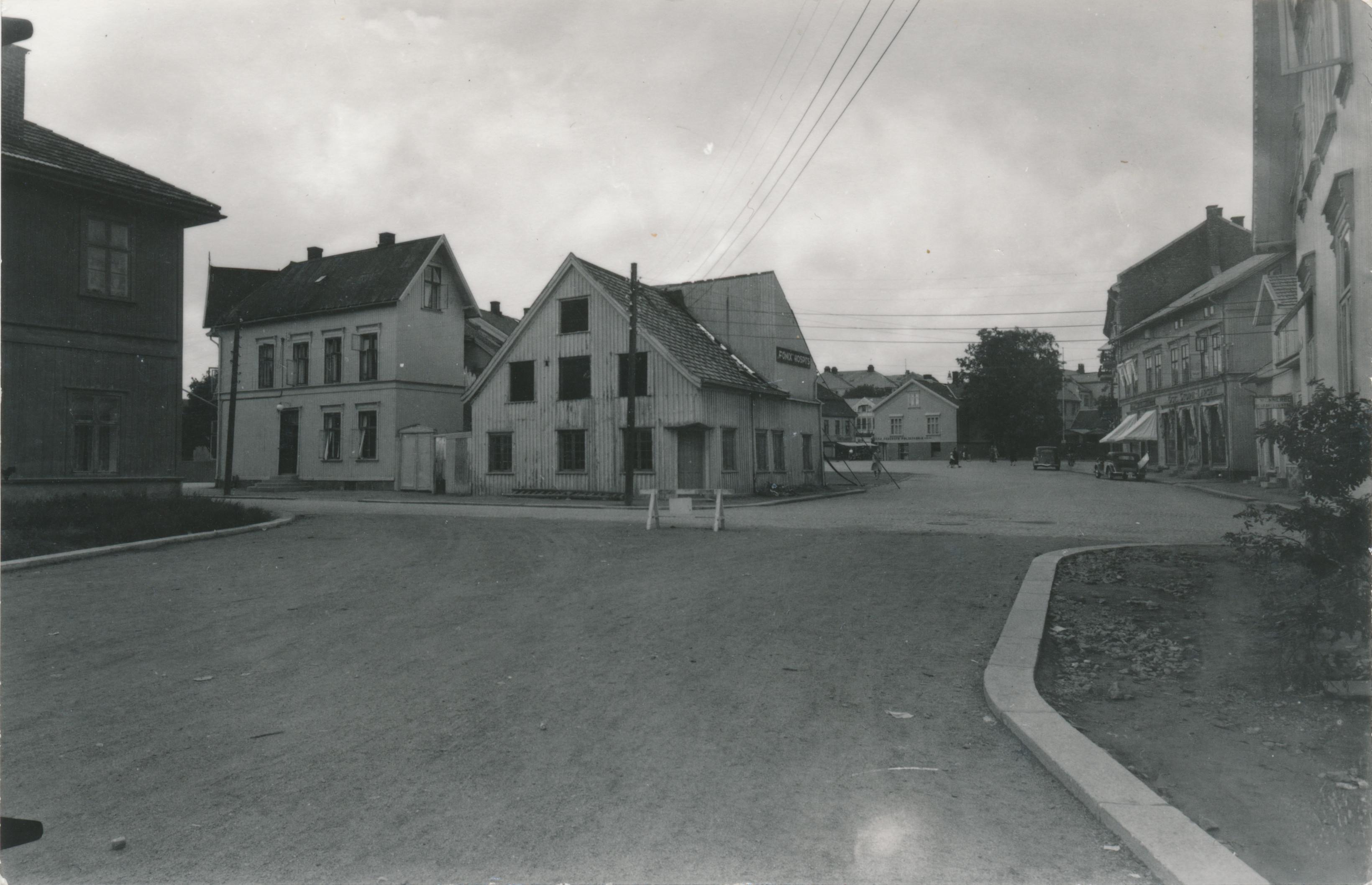 Bilde av Fønix Hospits Sett fra Thor Dahls gate